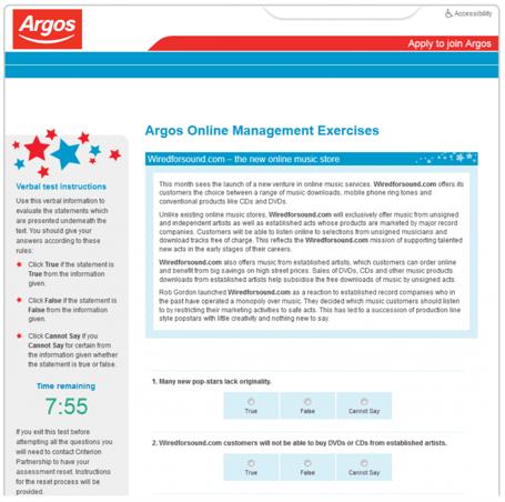 Argos Case Study
