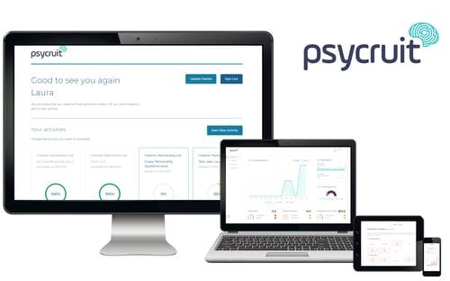 Psycruit Sales report